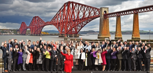 Nicola Sturgeon Meets The 56 Newly Elected SNP MPs